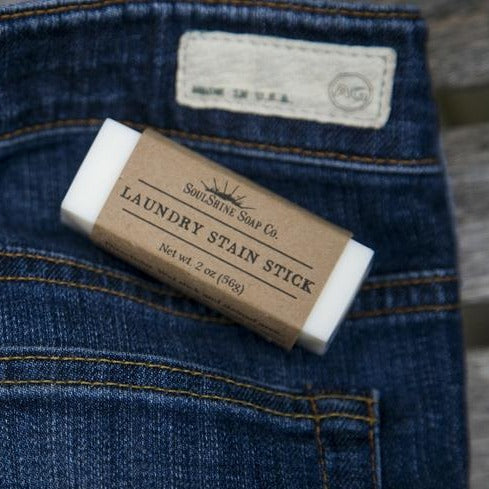 Natural and Vegan laundry stain stick