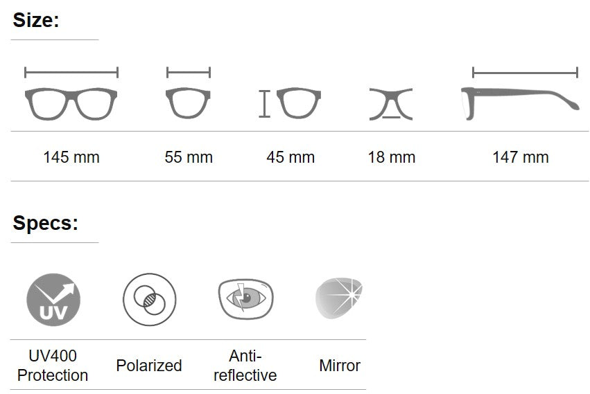 Dulcet aoge sunglasses for men and women