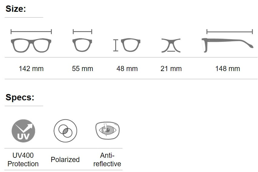 Rotund aofe sunglasses for men and women