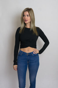 Aries Long Sleeve Crop