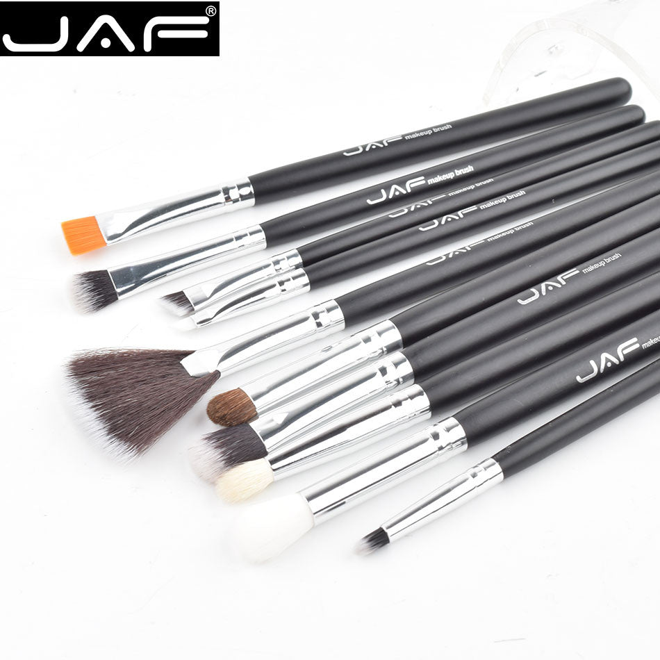 Professional Makeup Brushes with Adjustable Leather Case