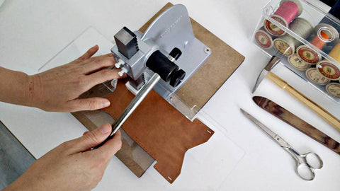 Leather-stamping