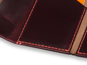 Slim-Leather-Wallet-Horween-Chromexcel-Leather-Burgundy-#8