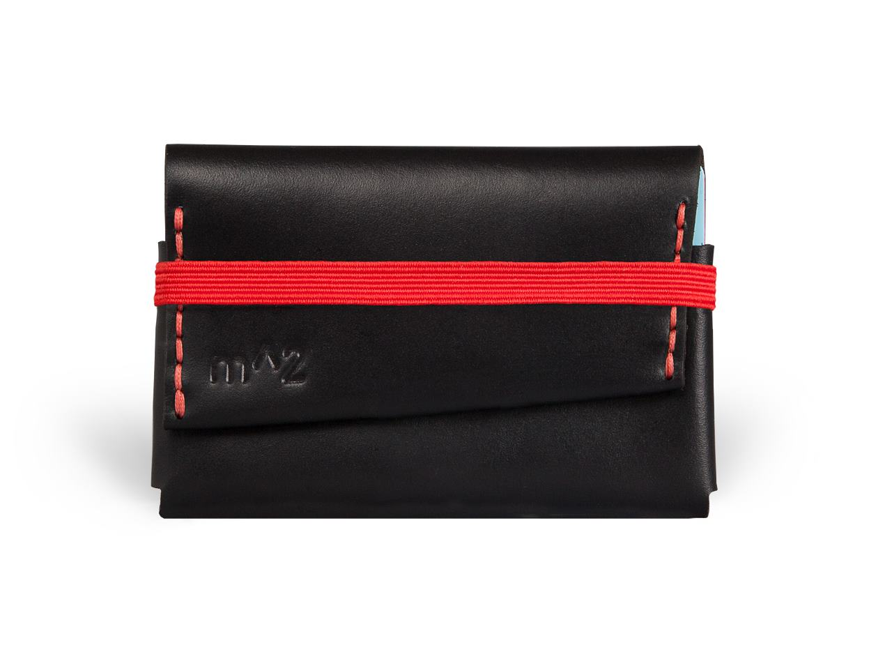 Minimalist-Wallet-Horween-Chromexcel-Leather-Black-Red-minimumsquared