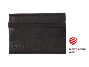 Slim-Elastic-Wallet-Veg-Tanned-Leather-Red-Dot-Design-Award-Black