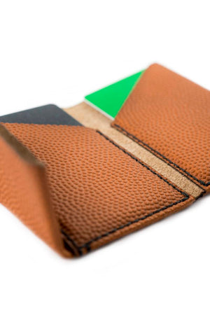 Slim Wallet NBA Basketball Horween Leather