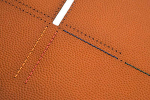 Slim Wallet NBA Basketball Horween Leather thread colours