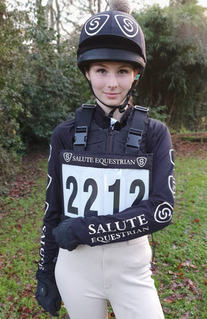 Salute Equestrian Number Inserts