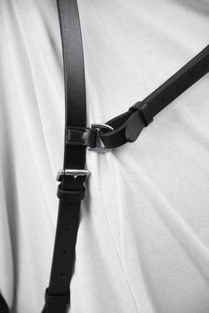 Personalised Classic Black Click & Connect Neck Strap Ultimate Set