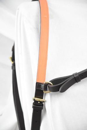 HI-VIZ Brown Bright Orange Click & Connect Neck Strap Ultimate Set