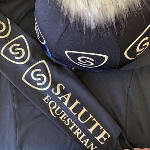 FoxyEquestrian Salute Set baselayer & hat silk