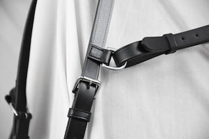 HI-VIZ Black Reflective Silver Click & Connect Neck Strap Ultimate Set