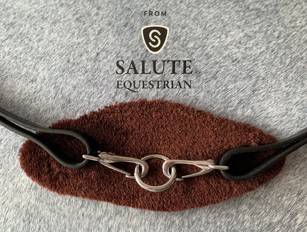 Brown Fleece Colourband for Click & Connect Neck Strap