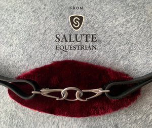 Burgundy Fleece Colourband for Click & Connect Neck Strap