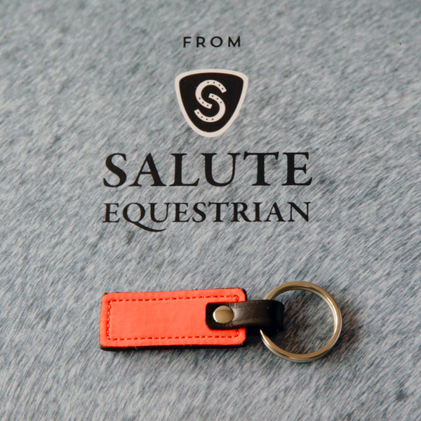 HI-VIZ Brown/Orange Keyring