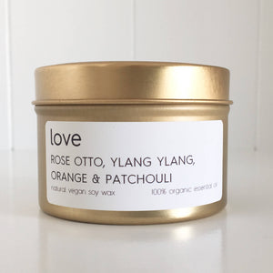 Lemon Canary - Love Soy Wax Tin Candle - Align Your Vibe