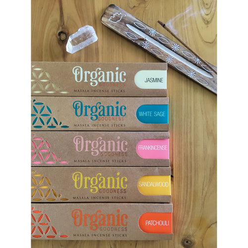 Organic Goodness - MASALA INCENSE STICKS - Align Your Vibe