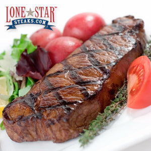 Four 10 oz. Boneless Strip Steaks (R234)