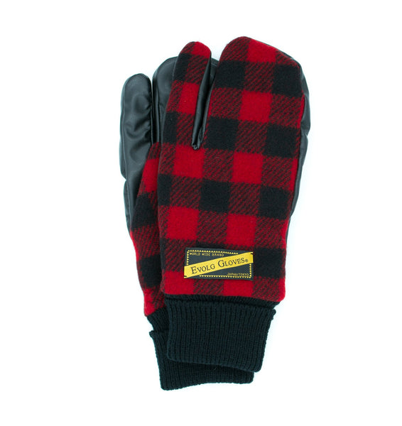 EXIST EVOLG GLOVE VEGAN LEATHER UNISEX FASHION (4 COLORS) - WOOLRICH®