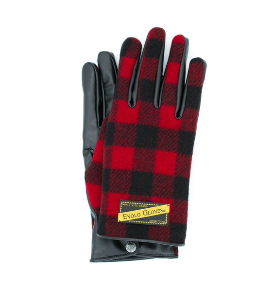 FANG EVOLG GLOVES VEGAN LEATHER MENS FASHION (4 COLORS) - WOOLRICH®