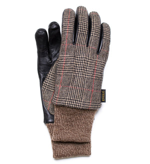 SAGA EVOLG GLOVES LEATHER MIX MEN FASHION