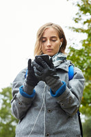 MUSE EVOLG GLOVES LEATHER WOMENS FASHION (2 COLORS)