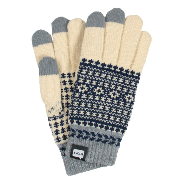 FLEUR EVOLG GLOVES KNIT UNISEX ONE SIZE CASUAL (5 COLORS)