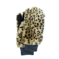 GRIZZLY EVOLG GLOVES VEGAN FUR WOMENS FASHION (6 COLORS)