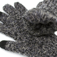MOTTLED UNISEX KNIT GLOVES (4 COLORS)
