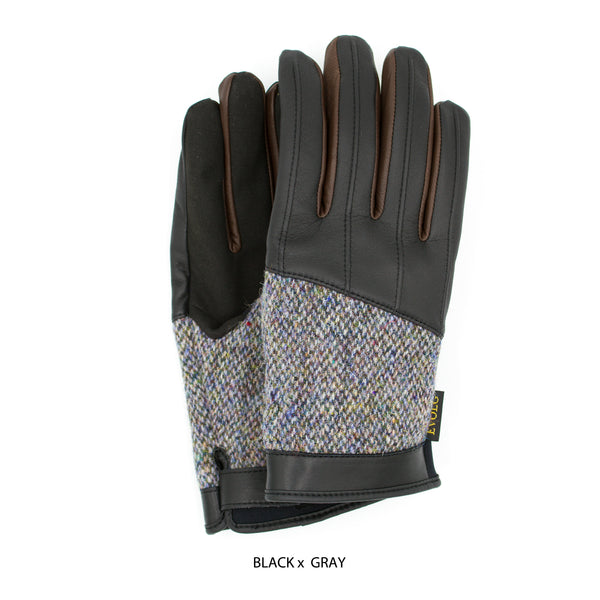 ZAN UNISEX LEATHER TOUCHSCREEN GLOVES (5 COLORS)