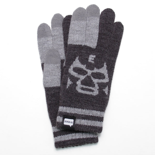 MASKED EVOLG GLOVES KNIT UNISEX ONE SIZE CASUAL (4 COLORS)