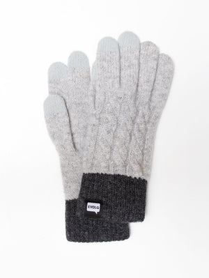 MINOS EVOLG GLOVES KNIT WOMENS ONE SIZE CASUAL
