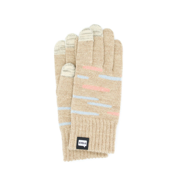 GLEAM EVOLG GLOVES KNIT UNISEX ONE SIZE CASUAL (4 COLORS)