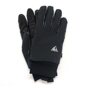 WIND PROTECT II EVOLG GLOVES BLACK LEATHER MIX OUTDOOR