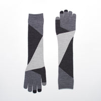 ZIG-ZAG EVOLG GLOVES KNIT WOMENS ONE SIZE CASUAL (3 COLORS)