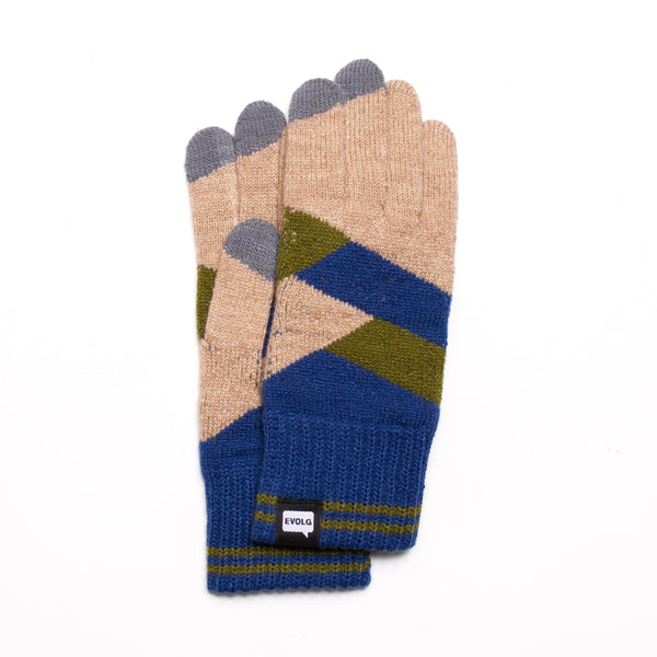 GEOMETRY EVOLG GLOVES KNIT UNISEX ONE SIZE CASUAL (5 COLORS)
