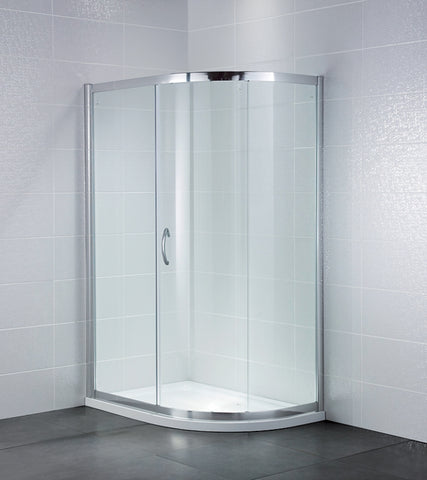 Identiti2 1 Door Quad Shower Enclosure 8mm