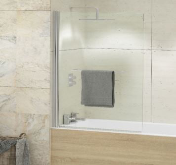 Kudos Single Panel Bath Screen bw