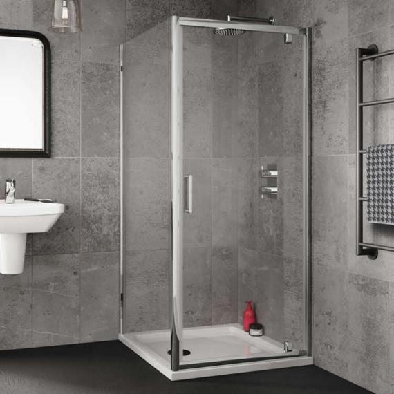 Sommer 6 Shower Enclosure Pivot Door