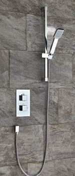 Square Thermostatic Shower Set One