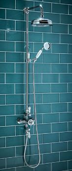 Traditional Rigid Riser Shower