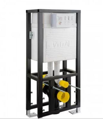 Vitra WC Frame for Wall Hung WC - Twin Cistern 112cm