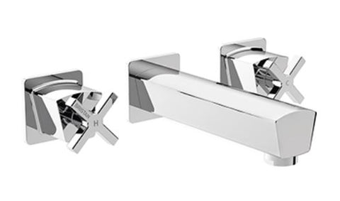 Cascade Wall Mounted Bath Taps
