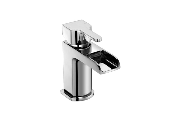 Basin Mono - Modo basin mono with click-clack waste LP2 - Aquaflow Brassware Collection
