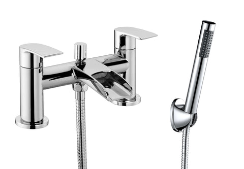 Bath Shower Mixer - Flo bath shower mixer MP - Aquaflow Brassware Collection