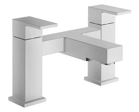Bath Filler - Cube bath filler MP - Aquaflow Brassware Collection