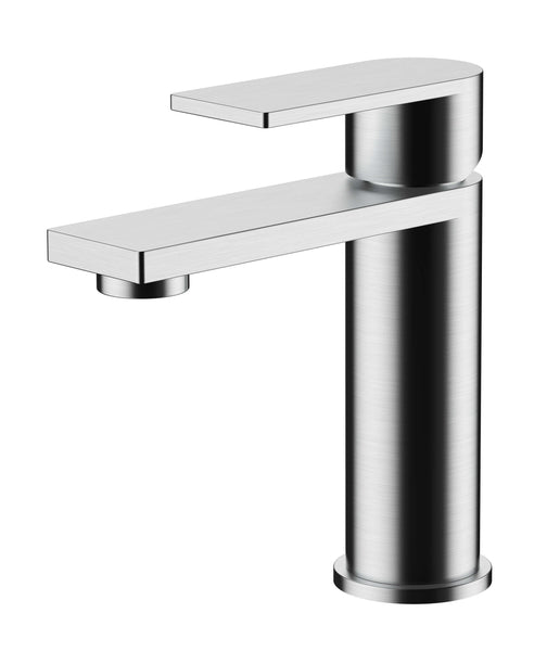 Basin Mono - Strand basin mono with click-clack waste MP - Aquaflow Edition Brassware Collection
