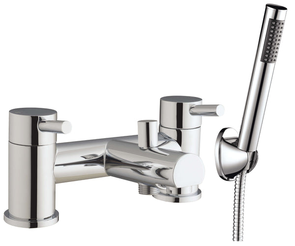 Bath Shower Mixer - Petit bath shower mixer MP - Aquaflow Brassware Collection