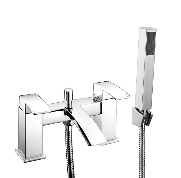 Bath Shower Mixer - Pure bath shower mixer MP - Aquaflow Brassware Collection