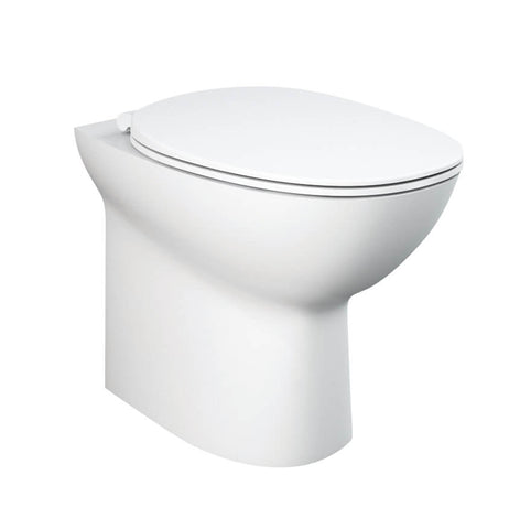 Back to Wall WC - Morning back to wall WC inc. soft close seat - The Contemporary Collection